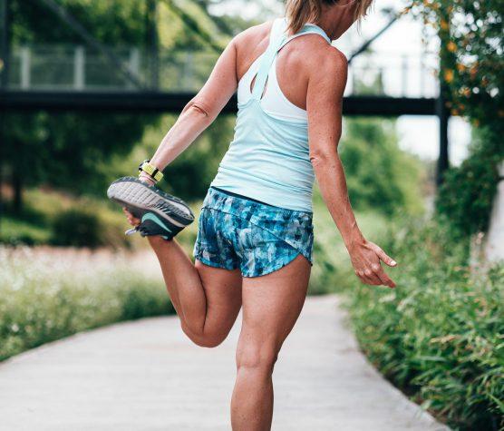 Reggeli edzés a Bikás Parkban